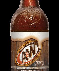 A&W - Root Beer 20oz Bottle Case