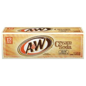 A&W - Cream 12oz Can Case
