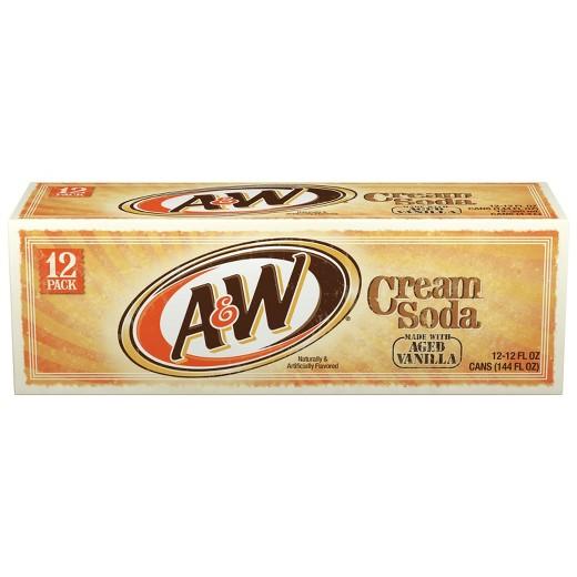 A&W - Cream 12oz Can Case