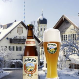 Ayinger - Weizenbock 500ml (16.9oz) Bottle 20pk Case