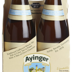 Ayinger - Brau Weisse 330ml (11.2oz) Bottle 24pk Case