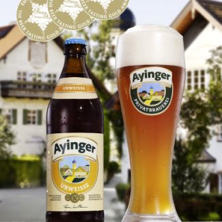 Ayinger - Urweisse 500ml (16.9oz) Bottle 20pk Case