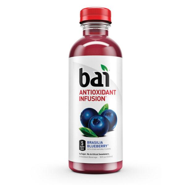 Bai 5 - Brasilia Blueberry 18oz Bottle Case
