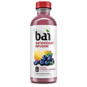 Bai 5 - Burundi Blueberry Lemonade 18oz Bottle Case