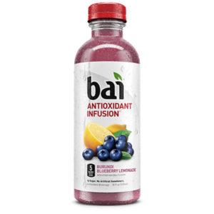 Bai 5 - Burundi Blueberry Lemonade 18oz Bottle Case