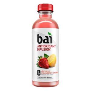 Bai 5 - San Paulo Strawberry Lemonade 18oz Bottle Case