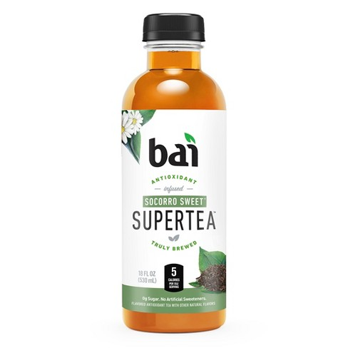 Bai 5 - Supertea Socorro Sweet 18oz Bottle Case