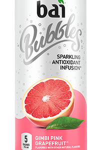 Bai Bubbles - Gimbi Pink Grapefruit 11.5oz Can Case - 12 Pack