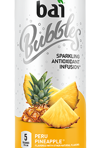 Bai Bubbles - Peru Pineapple 11.5oz Can Case - 12 Pack