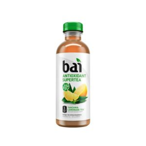 Bai 5 - Supertea Tanzania Lemon 18oz Bottle Case
