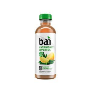 Bai 5 - Supertea Tanzania Lemon 18oz Bottle Case