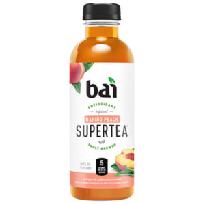 Bai 5 - Supertea Narino Peach 18oz Bottle Case