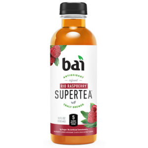 Bai 5 - Supertea Red Raspberry 18oz Bottle Case