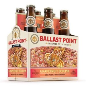 Ballast Point - Grapefruit Sculpin IPA 12oz Bottle 24pk Case