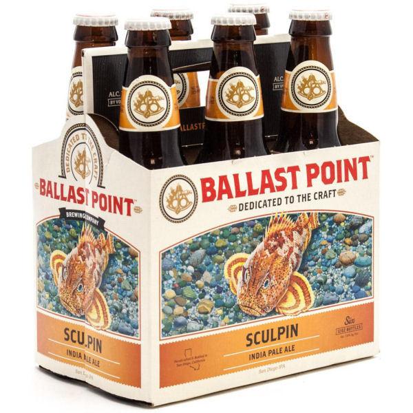 Ballast Point - Sculpin IPA 12oz Bottle 24pk Case