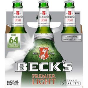 Beck's - Light Lager 12oz Bottle 24pk Case