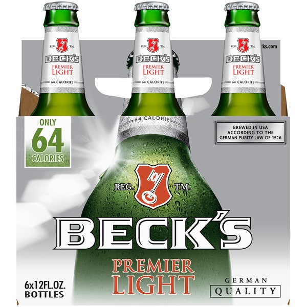 Beck's - Light Lager 12oz Bottle 24pk Case