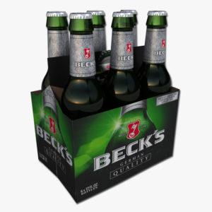 Beck's - Lager 12oz Bottle 24pk Case