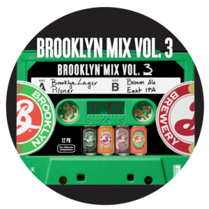 Brooklyn - Mix Vol. 3 -12oz Can 24pk Case