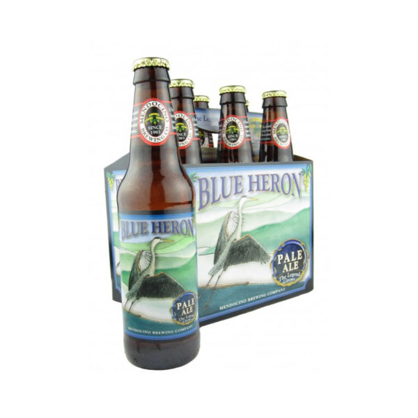 Mendocino - Blue Heron Pale Ale 12oz Bottle 24pk Case