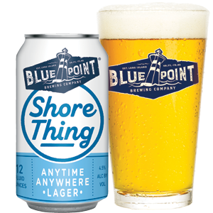 Blue Point - Shore Thing Lager 12oz Can 24pk Case