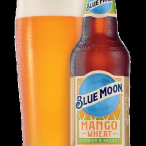 Blue Moon - Mango Wheat 12oz Bottle 24pk Case