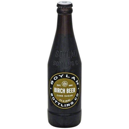 Boylan - Birch Beer 12oz Bottle Case