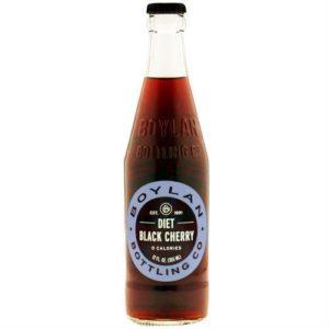 Boylan - Diet Black Cherry 12oz Bottle Case