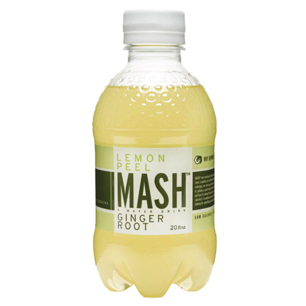 Boylan - Mash Lemon Peel Ginger Root 20oz Bottle Case