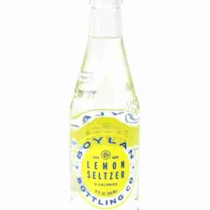 Boylan - Lemon Seltzer 12oz Bottle Case - 24 Pack