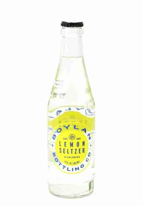 Boylan - Lemon Seltzer 12oz Bottle Case - 24 Pack