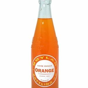 Boylan - Orange 12oz Bottle Case