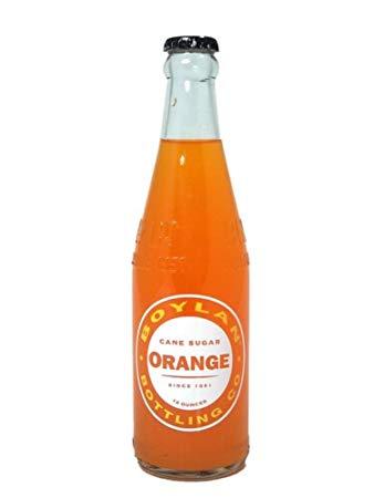 Boylan - Orange 12oz Bottle Case