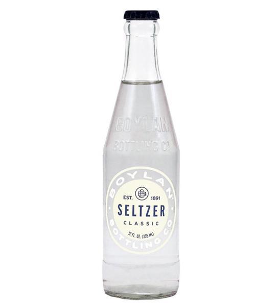 Boylan - Seltzer 12oz Bottle Case - 24 Pack