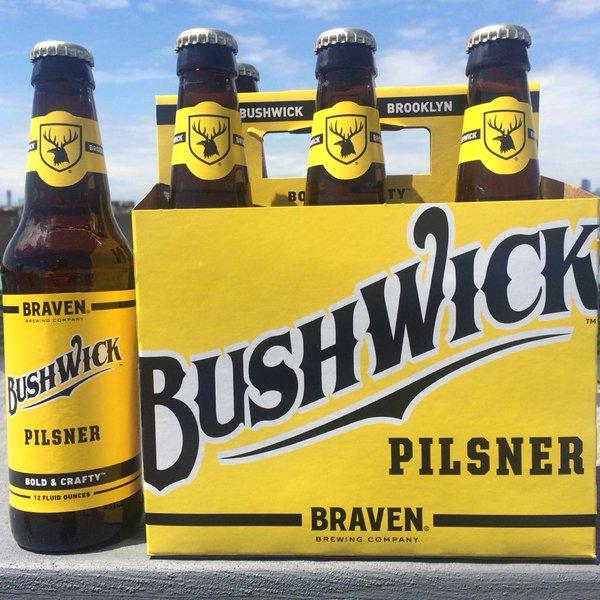 Braven - Bushwick Pilsner 12oz Bottle 24pk Case