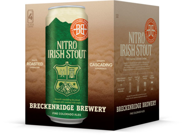 Breckenridge - Nitro Irish Stout 13.6oz Can 24pk Case