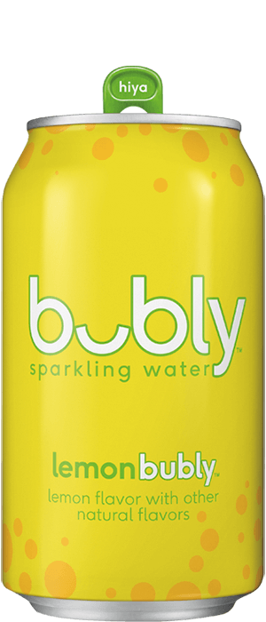 Bubly - Lemon Sparkling 12oz Can Case - 24 Pack
