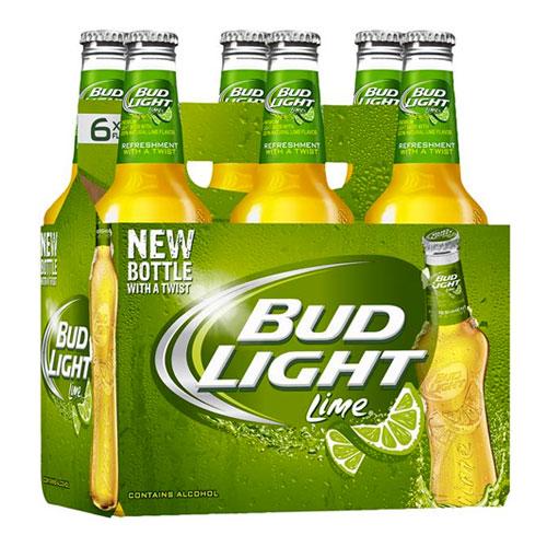 Budweiser - Bud Light Lime 12oz Bottle 24pk Case