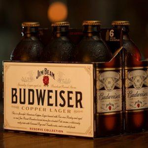 Budweiser - Jim Beam Copper Lager 12oz Bottle 24pk Case