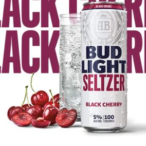 Bud Light - Seltzer Black Cherry 12oz Can Case