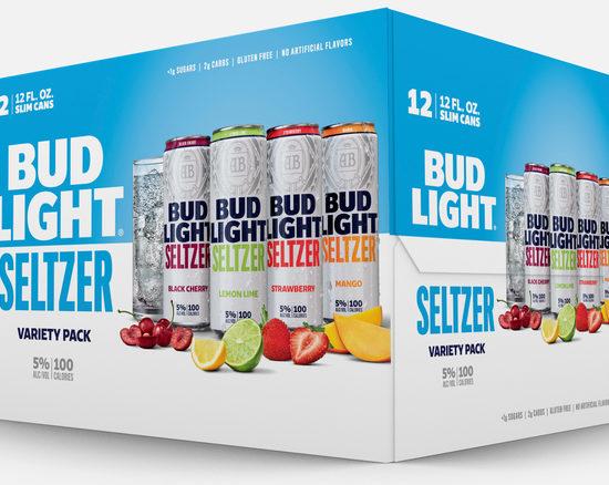 Bud Light - Seltzer 12oz Mix Can Case