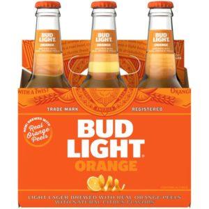 Bud Light - Orange 12oz Bottle 24pk Case