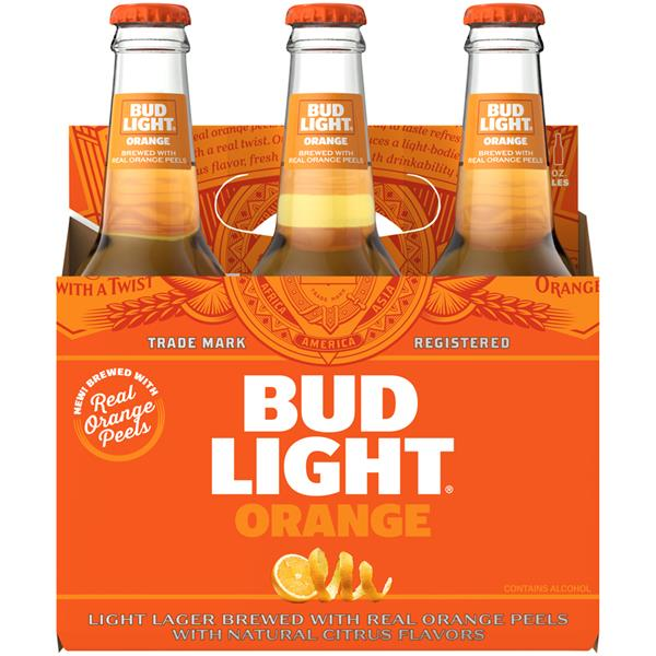 Bud Light - Orange 12oz Bottle 24pk Case