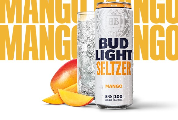 Bud Light - Seltzer Mango 12oz Can Case