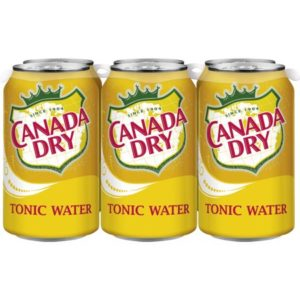 Canada Dry - Tonic 12oz Can Case