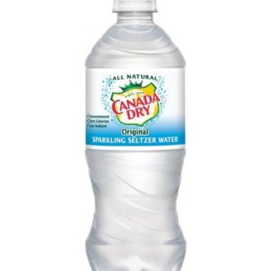 Canada Dry - Seltzer 20oz Bottle Case - 24 Pack