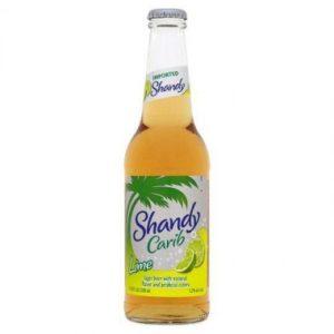 Carib - Lime Shandy 330ml (11.2oz) Bottle 24pk Case