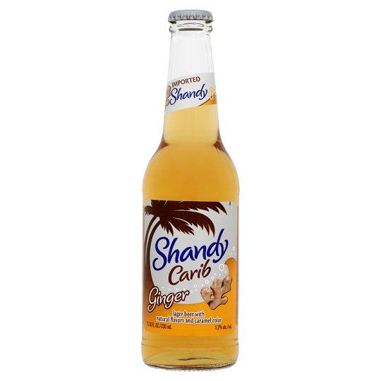 Carib - Ginger Shandy 330ml (11.2oz) Bottle 24pk Case