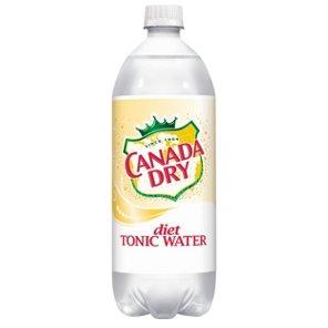 Canada Dry - Diet Tonic 1 Liter (33.8oz) Bottle Case
