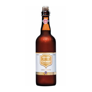 Chimay - Cinq Cents 750ml (25.3oz) Bottle (Yellow Label) - Trappist